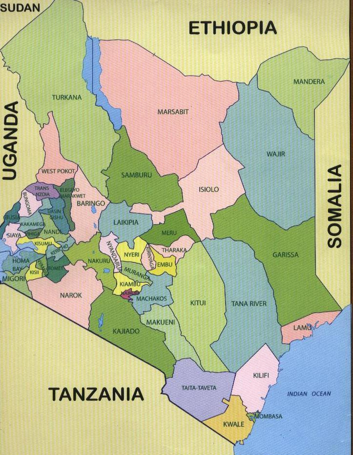 Counties-in-Kenya