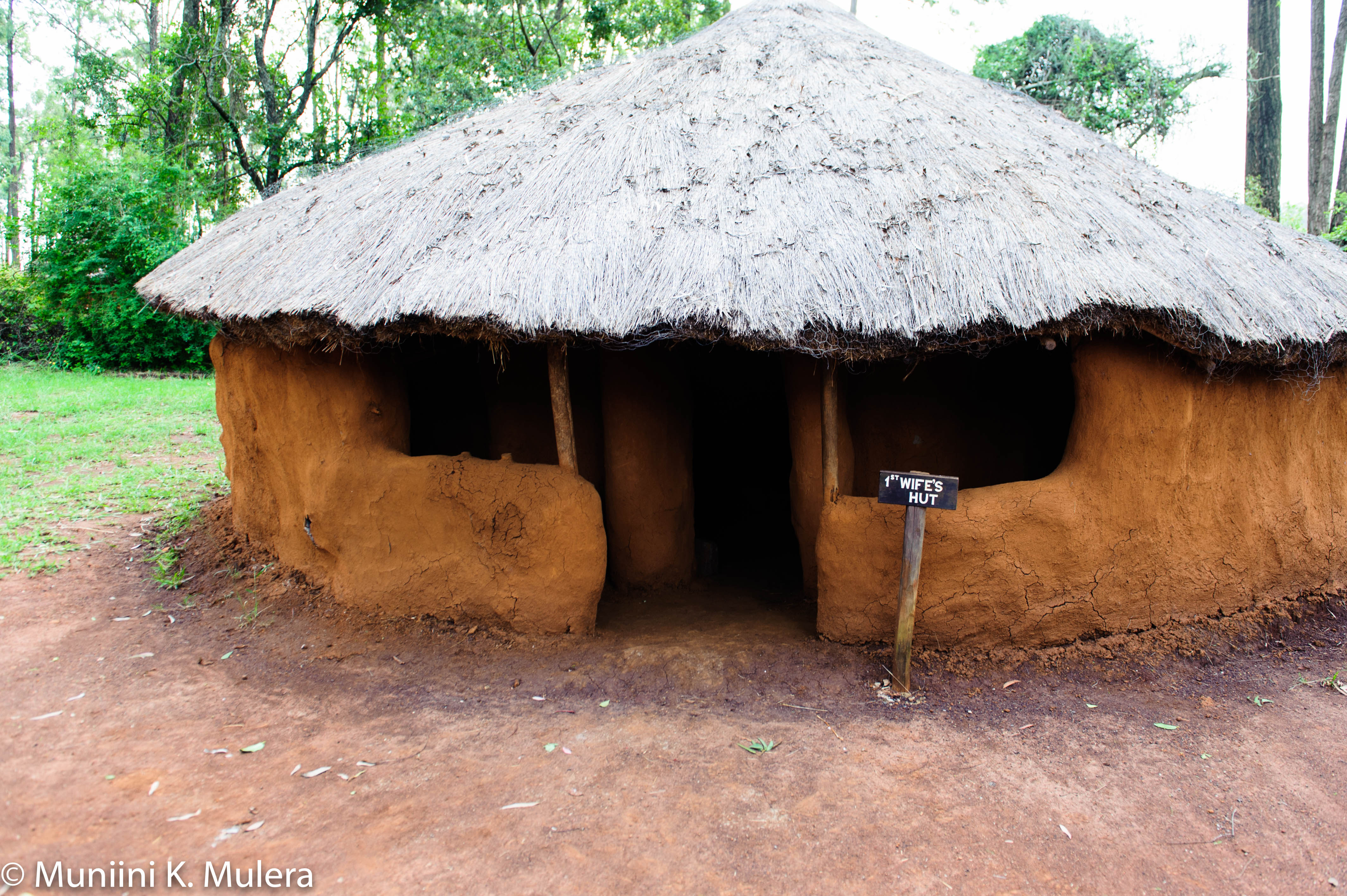 Bomas of Kenya First Wife's hut