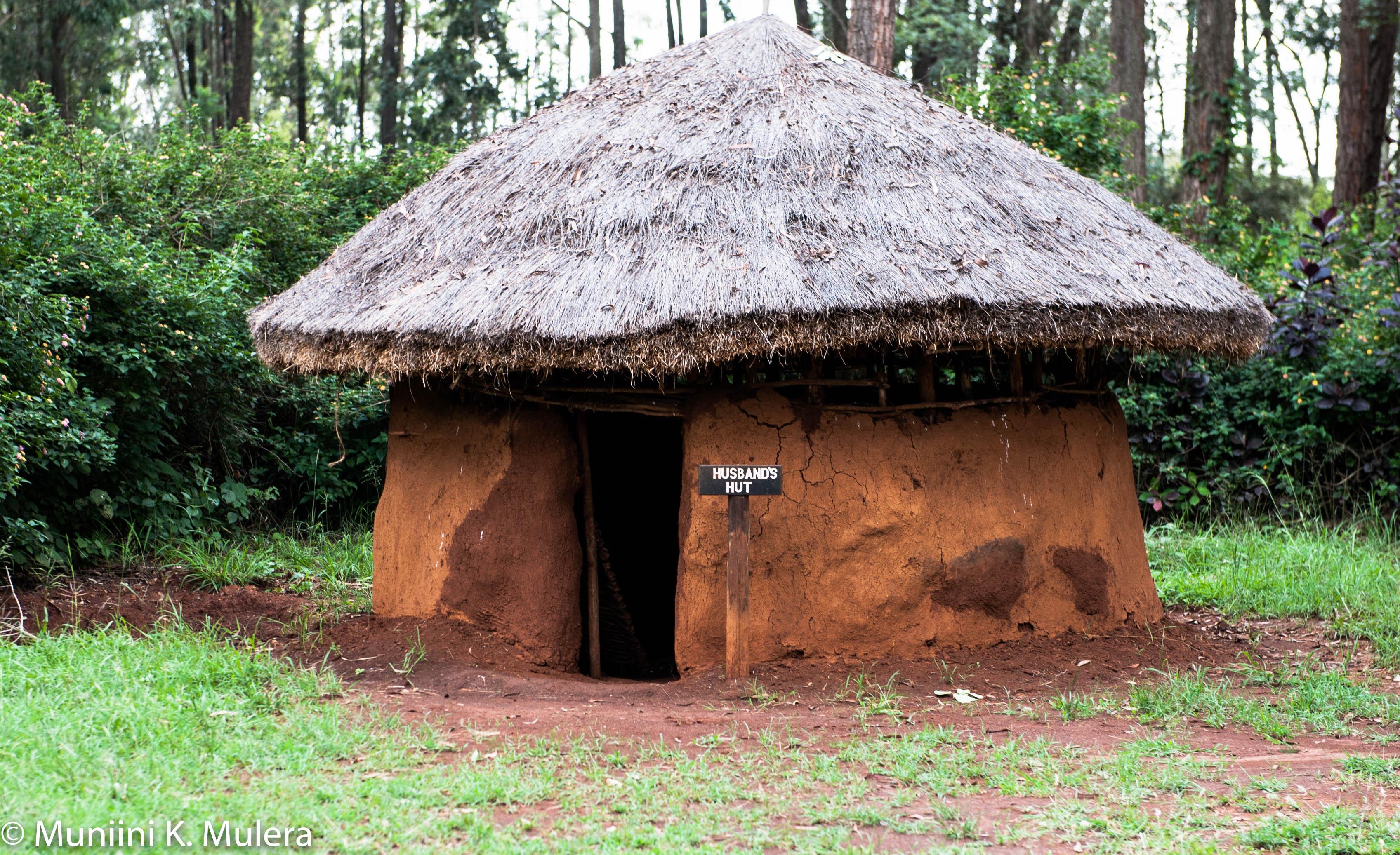 Bomas of Kenya Husband's hut
