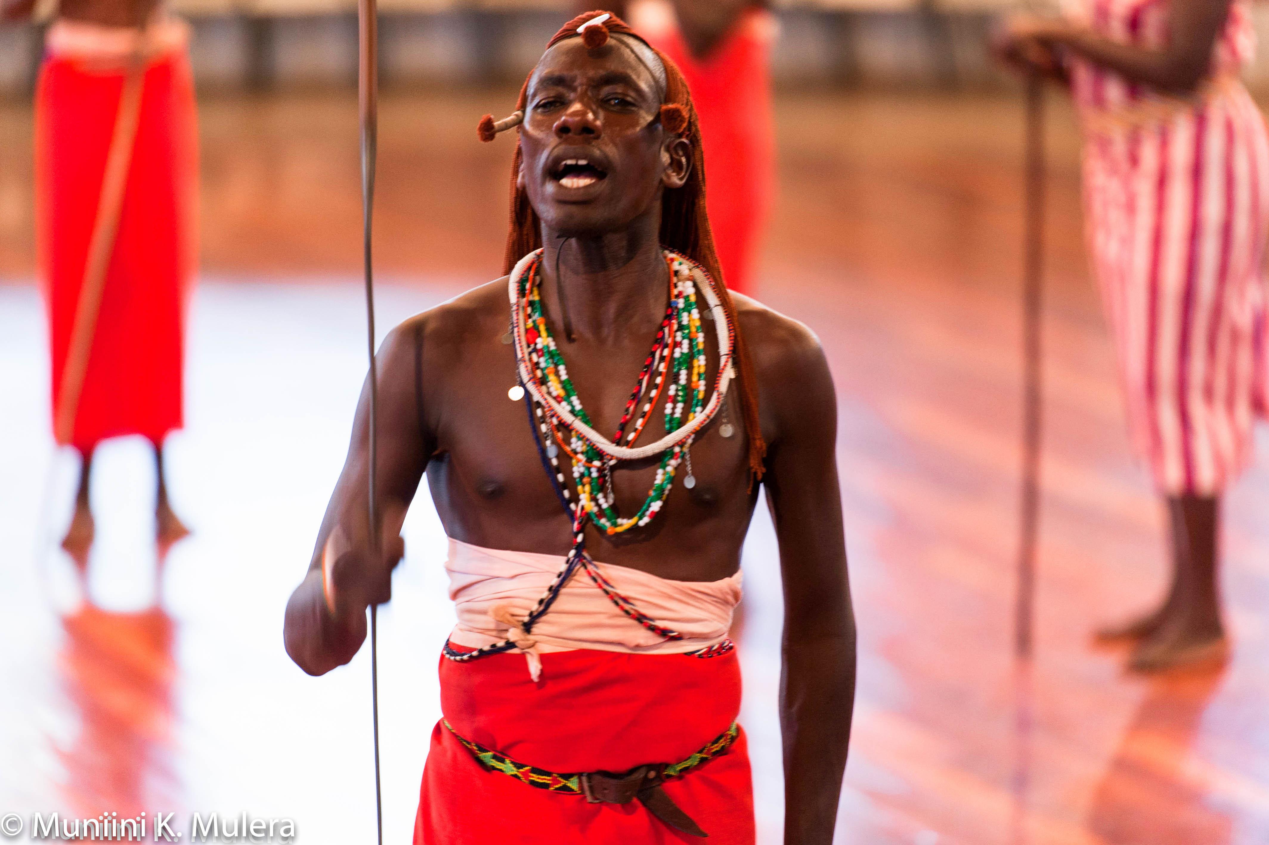 Bomas of Kenya male warrior dancer - Best