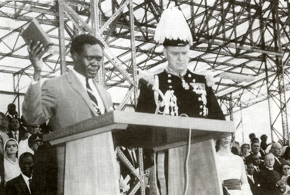 Obote & Walter Coutts