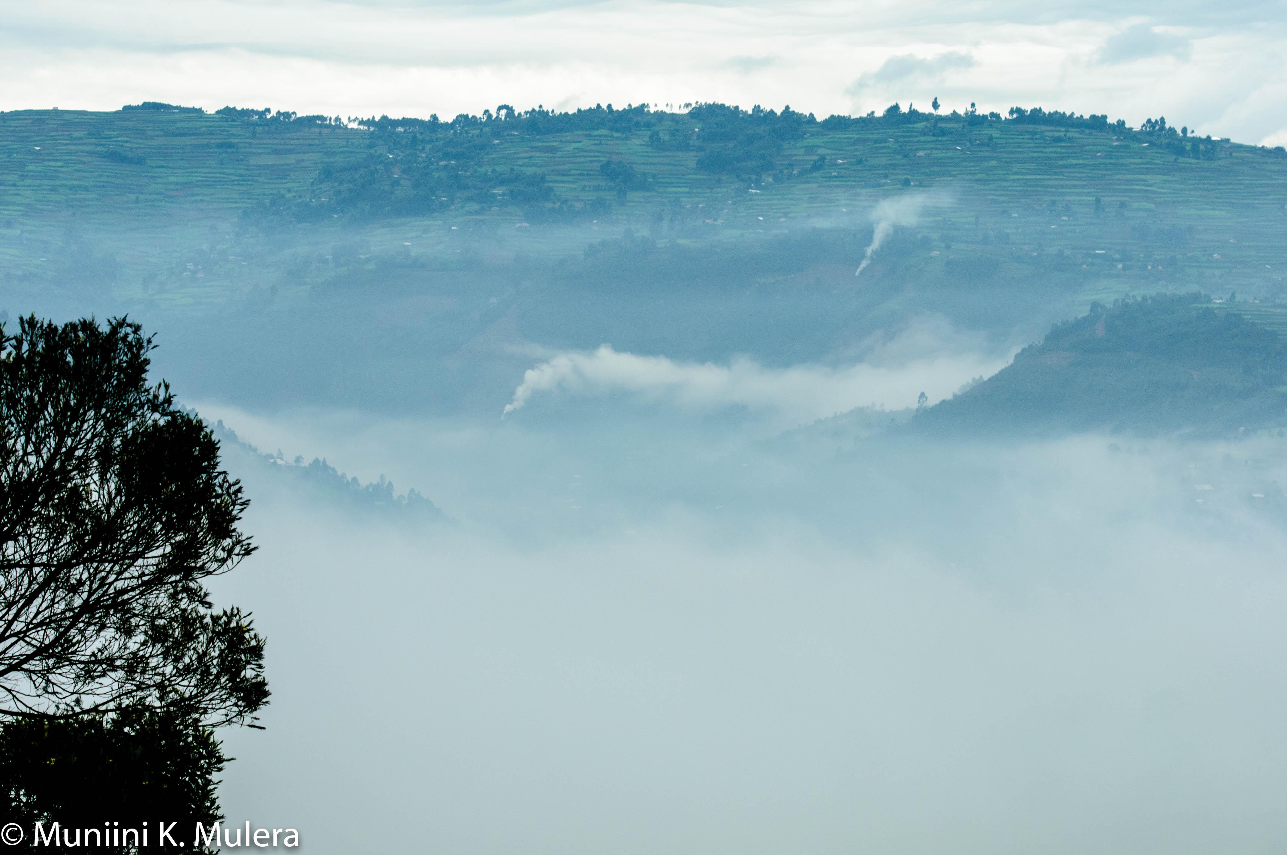 Kabale misty morning