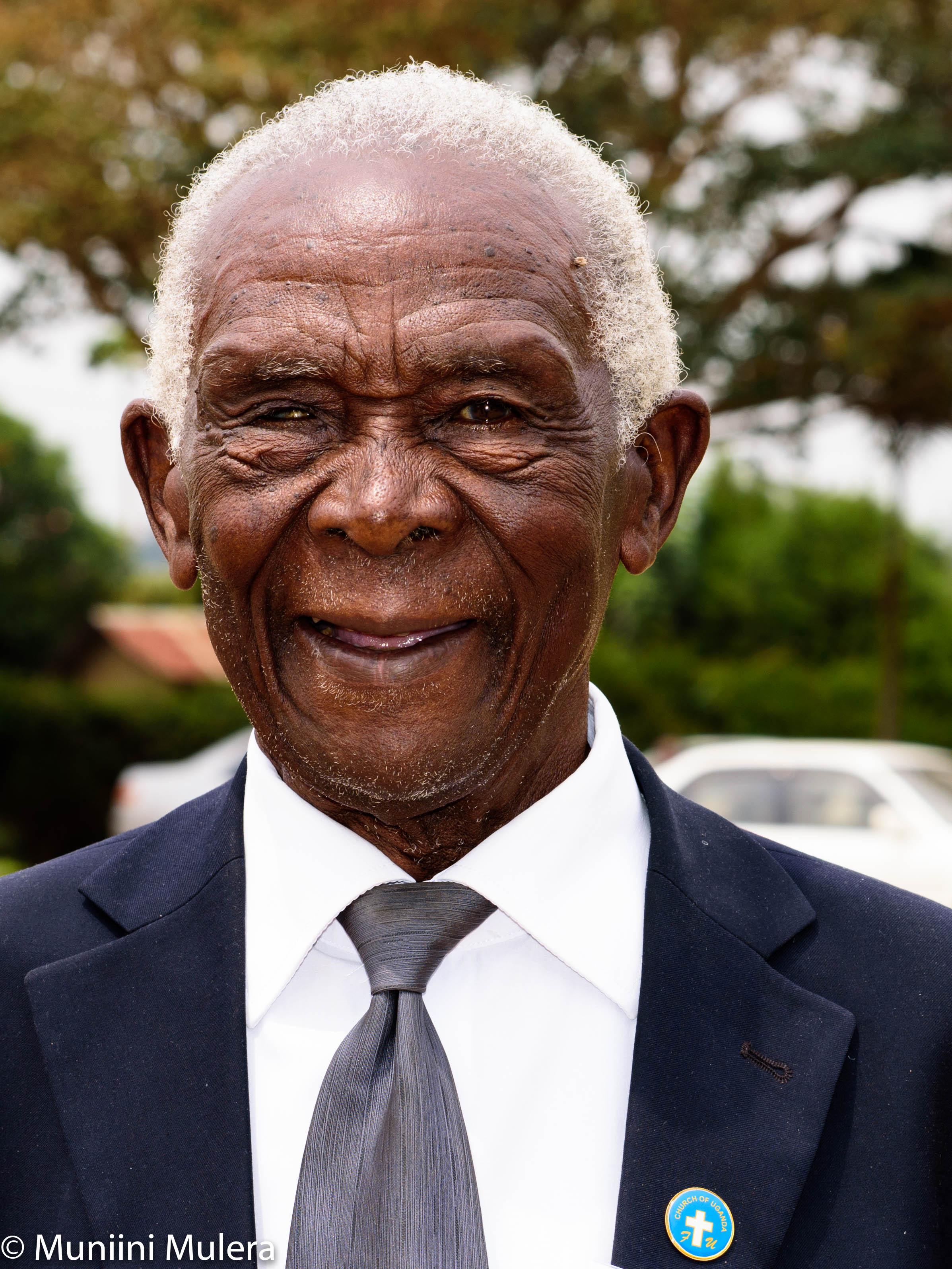 Enoch Lugimbirwa: saved to serve.
