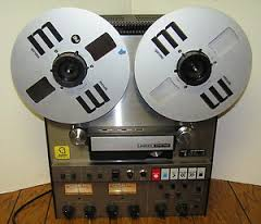 Ampex reel to reel recorder
