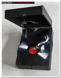 Gramophone with RCA LP