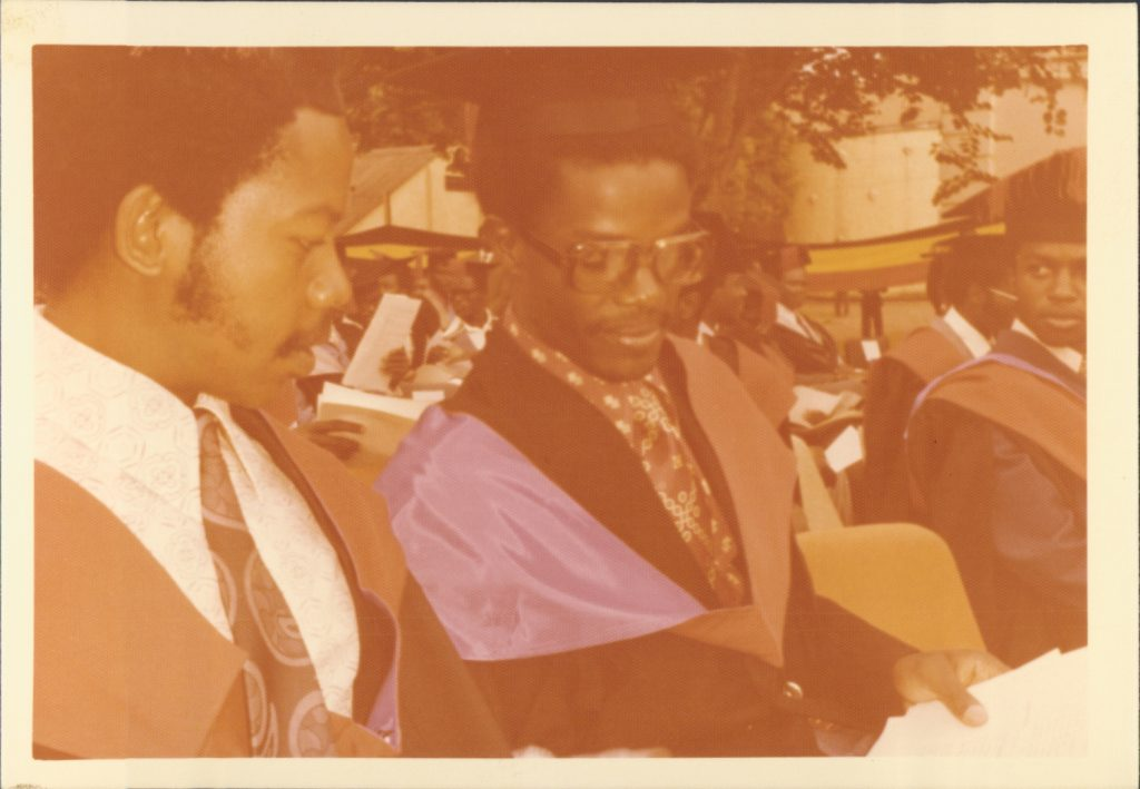 Friday March 18, 1977 - Graduation Day, Makerere University, Kampala